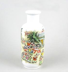 【菲集】艺术品 百子瓶 陶瓷制品 收藏品 跨境直邮