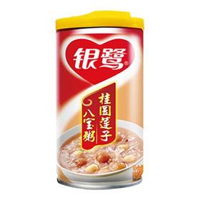 营养早餐银鹭桂圆莲子八宝粥360克/瓶速食粥休闲零食