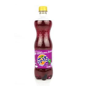 瓶装芬达 葡萄味汽水 500ml