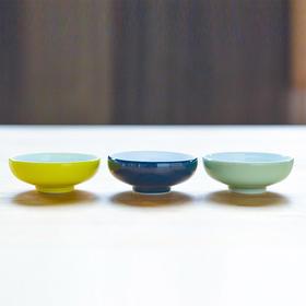 古镇陶瓷景德镇家用骨碟单个白瓷厨房餐具小蝶陶瓷蝶味碟礼品多色