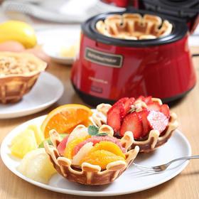 recolte丽克特 日本家用小型多功能华夫饼松饼机可丽饼早餐饼机