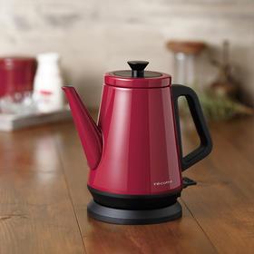 日本recolte丽克特 不锈钢 保温防烫复古电热水壶自动断电 烧水壶