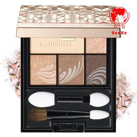 日本直邮 Shiseido资生堂 MAQuillAGE心机 金砖五色眼影盘全5色