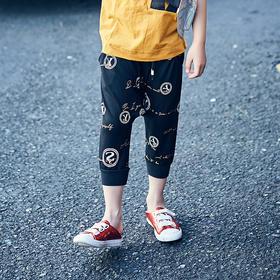 罗纹收口裤