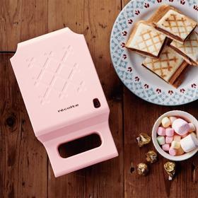 日本recolte丽克特三明治机早餐机家用烤面包机不粘锅3色选易清洗
