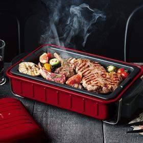 recolte丽克特 韩式日本电烧烤炉火锅电烤盘料理锅烤肉机电烤锅