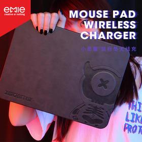 可以给手机无线充电的鼠标垫,适配支持无线充电的手机型号