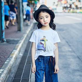 公主裙T恤
