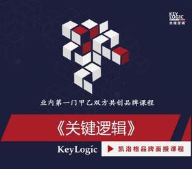 《关键逻辑:激活思考能量》【凯洛格2020公开课】