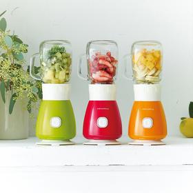 recolte丽克特 RSb-3日本家用便携小型果汁机多功能榨汁机果汁杯