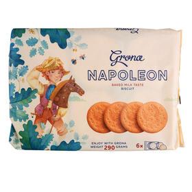 乌克兰原产 Garibaldi格罗娜牛奶味饼干
