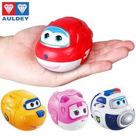 奥迪双钻超级飞侠趣变蛋,变形机器人玩具,4 款可选