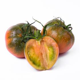 【丹东铁皮柿子】20年老品种 碱地柿子 草莓西红柿 果蔬新贵 番茄珍品 109元5斤 多倍VC含量 明星都爱吃的西红柿