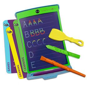 magic sketch液晶手写板儿童涂鸦临摹手绘板彩色透明电子手写板