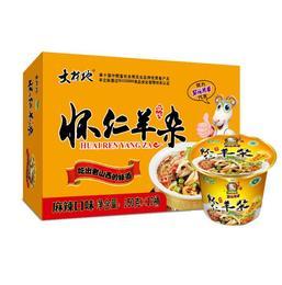 【特产】山西特产大材地碗羊杂方便速食小吃 整箱12碗香辣味