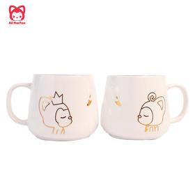 【新品】阿狸天鹅陶瓷杯,一杯子,一辈子~