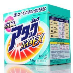 日本 花王酵素洗衣粉 花果香 柔顺护色 香味自然清新