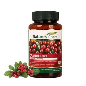 澳洲自然优选蔓越莓精华胶囊 100粒 25000mg