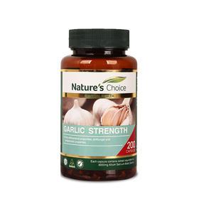 澳洲自然优选大蒜油精华胶囊 200粒