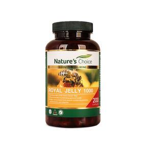 澳洲自然优选蜂皇浆胶囊 200粒/瓶