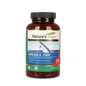澳洲自然优选深海鱼油 200粒/瓶