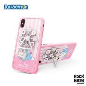 哆啦A梦 粉色浪漫款摩天轮支架保护壳iPhoneX