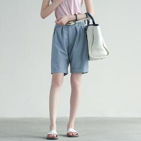 简约宽松五分裤短裤百搭休闲显瘦直筒裤