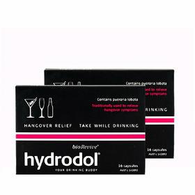 2盒装 |【缓解宿醉】澳大利亚  Hydrodol 解酒片 16粒