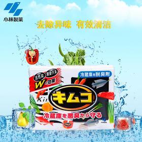 小林制药冰箱用去味剂常规装冷藏室用冰箱除味剂除臭剂去味113g