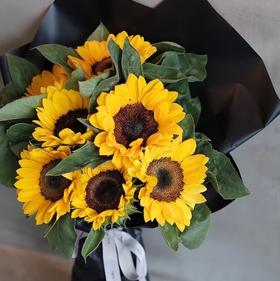 【向日葵】泰迪向日葵鲜花母亲节花束