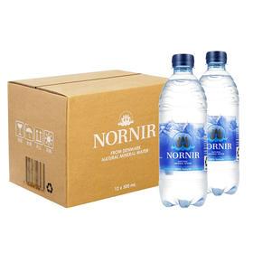 丹麦进口 诺伦天然矿泉水500ml*12瓶 保质期至8月(8002)