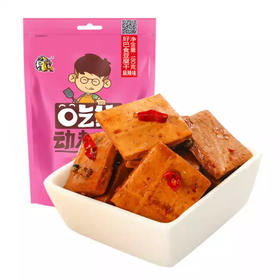 好巴食 休闲零食 四川特产小吃 麻辣味豆腐干180g