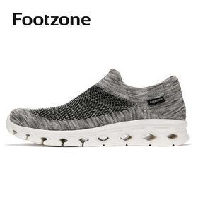 Footzone3D针织袜套鞋2019年夏季新款透气一脚蹬FZ192M130945