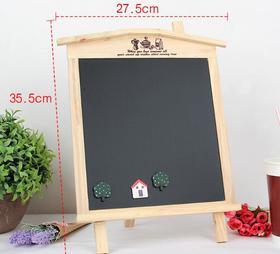 【家居摆件】韩版创意木制黑板 写字小黑板 可挂式创意留言板