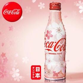可口可乐碳酸饮料樱花限定250毫升