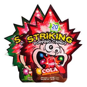 儿童怀旧零食 香港striking索劲跳跳糖 2包*20包 共40小包 那些跳跃舌尖的童年记忆