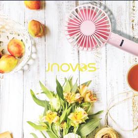 【今夏最值得期待的超高颜值小风扇】澳洲JNOVOS创意甜甜圈迷你随身电风扇 手持电风扇