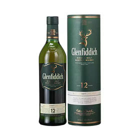 Glenfiddich格兰菲迪12年纯麦威士忌700毫升