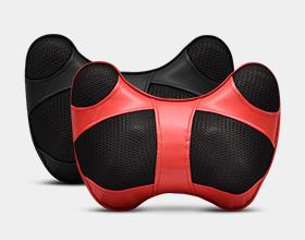 【音乐按摩颈枕】不仅按摩颈部还要按摩耳朵,触觉听觉革命性按摩体验