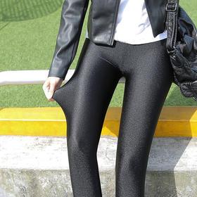【自带提臀特效的亮光打底裤】雅羊人® BlingBling的时尚亮光 回弹力超强 水洗不褪色