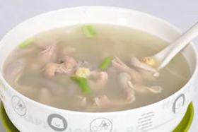姜丝小肠汤
