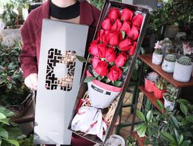 中国风礼盒款A级红玫瑰