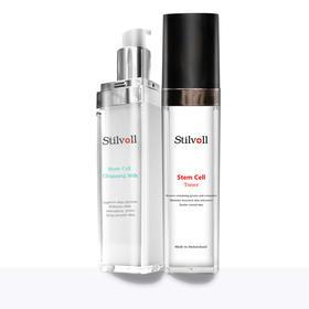 【Stilvoll透晶亮采基础清洁套装】干细胞洁面乳+爽肤水,钜惠9折,30天焕发娇嫩容颜