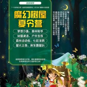 2018魔幻树屋夏令营(途居芜湖)