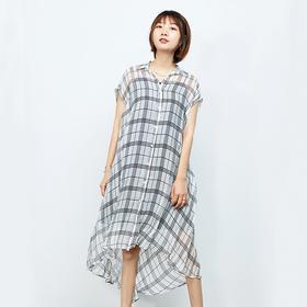 真丝连衣裙(配皮带吊带)
