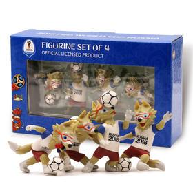 【世界杯】俄罗斯世界杯吉祥物扎比瓦卡纪念套装·3D玩具礼品