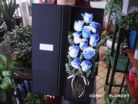 进口厄瓜多尔天空玫瑰礼盒(订此款需提前联系我们)