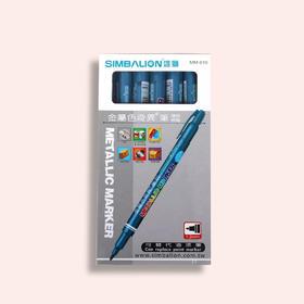雄狮金属色奇异笔 MM-610 12支/盒