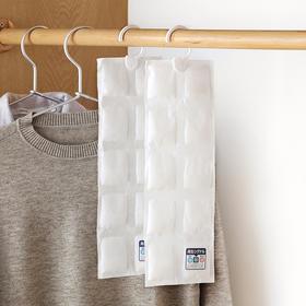 懒角落 可再生衣物干燥剂吸水 衣柜鞋柜挂式防潮干燥剂2个装65406