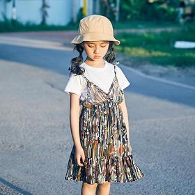 迷彩纱裙套装